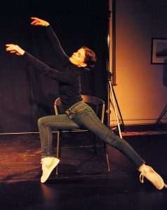 Eve Zandi Starting Points Sussex Dance Network. Image credit Tim Garrod