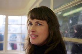Headshot of Sarah Willmott, a local filmmaker.