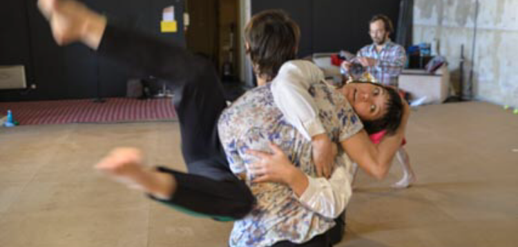 CONTACT IMPROVISATION: CLASS WITH ANNE-GAELLE THIRIOT