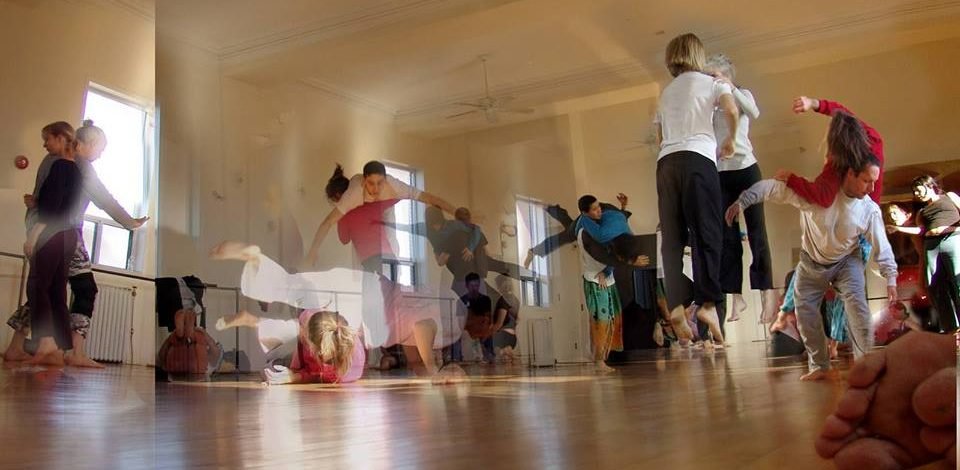 CONTACT IMPROVISATION: JAM WITH BELINDA PAPAVASILIOU