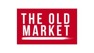 The Old Market's red logo.