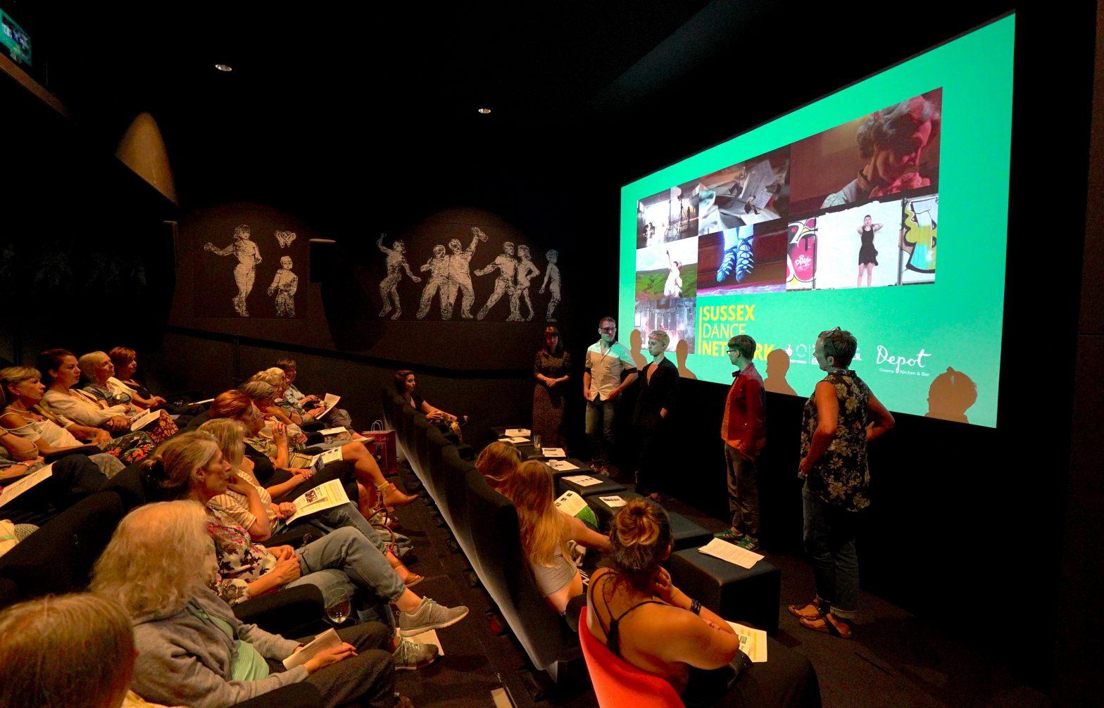 Presentation to an auditorium