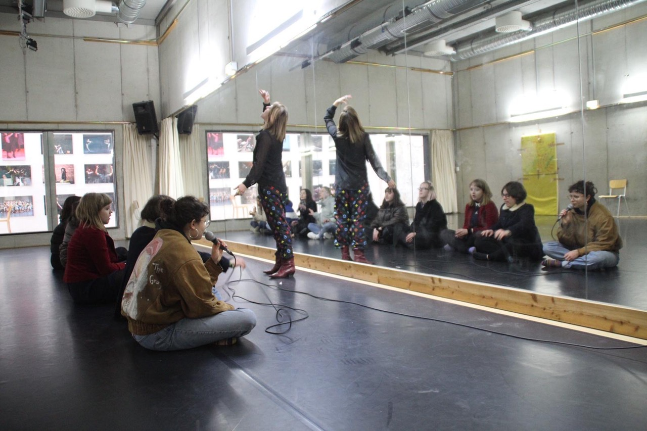 Pop Culture and Identity in Radical Performance Movement Workshop