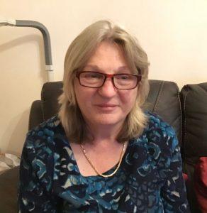 Photograph of Joy Griffiths, psychotherapist.
